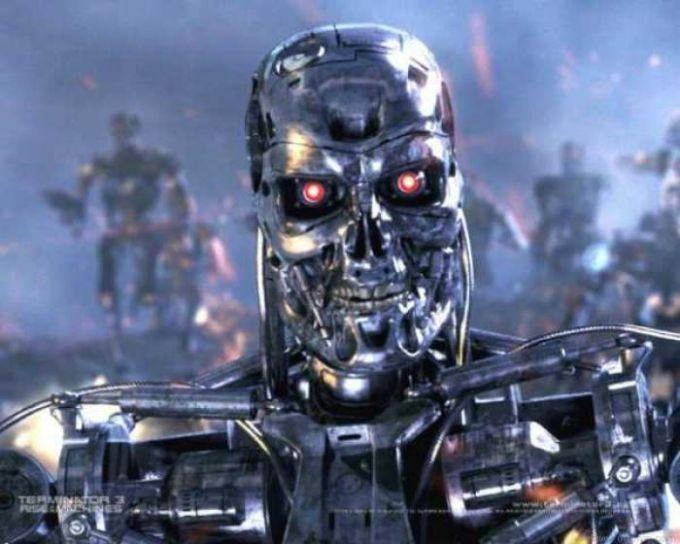 Terminator 3: T-800 Attack Wallpaper