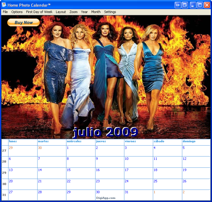Home Photo Calendar