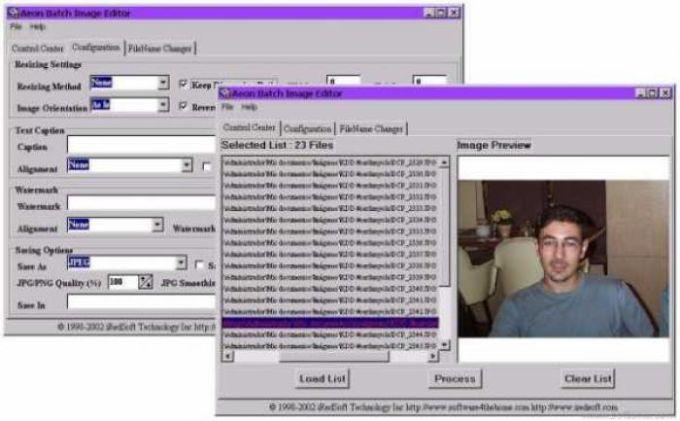 Aeon Batch Image Editor