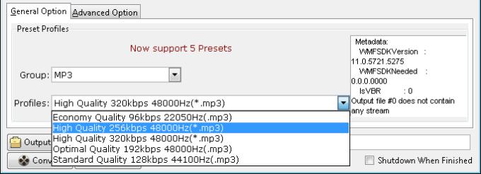 Audio to MP3 Converter