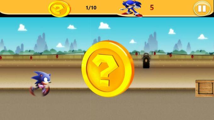 Sonic Runner para Windows 10