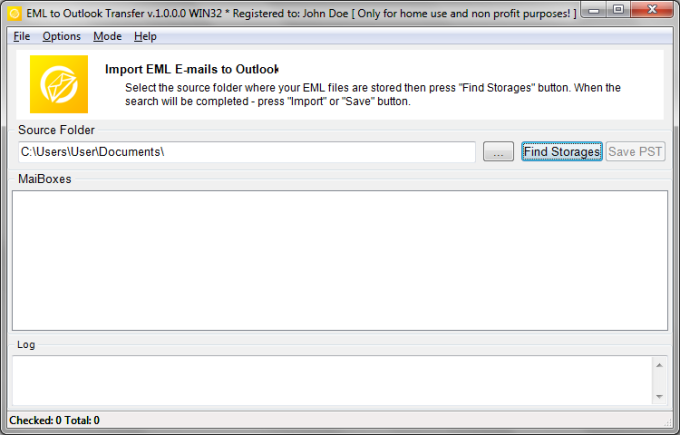 EML to Outlook Transfer