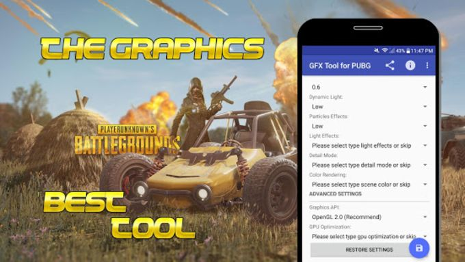 GFX Tool for PUBG - NO BAN para Android - Download