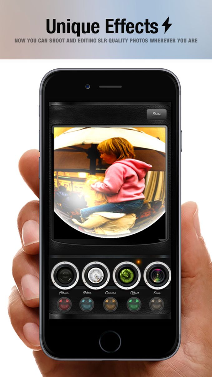 Shock Camera Mix 360 - photo editor plus camera lens effects & filters