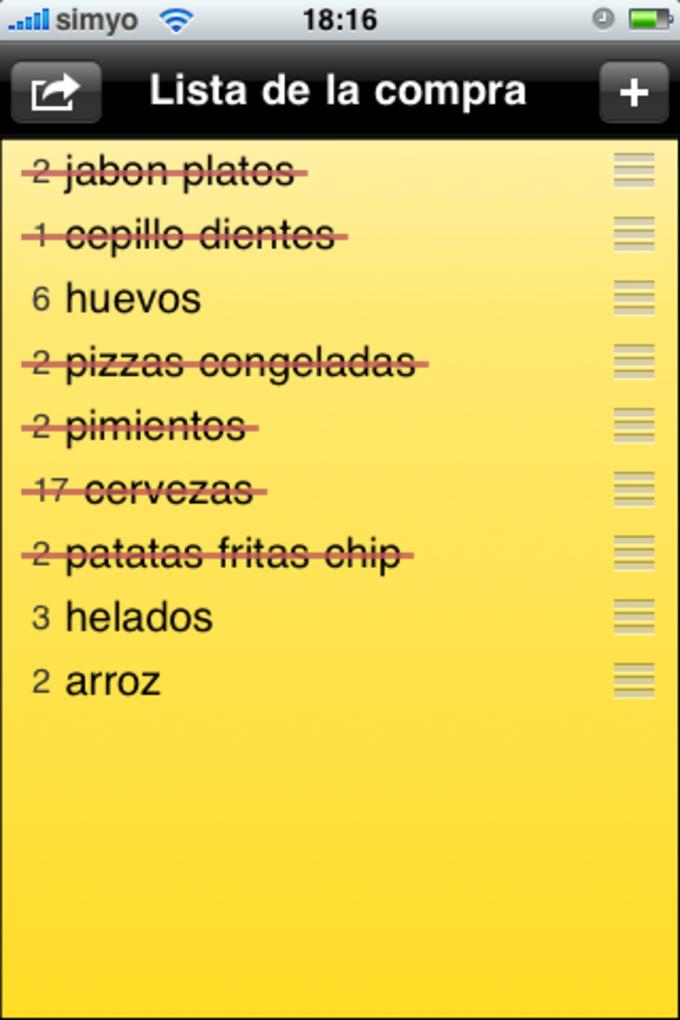 ShopShop - Shopping List