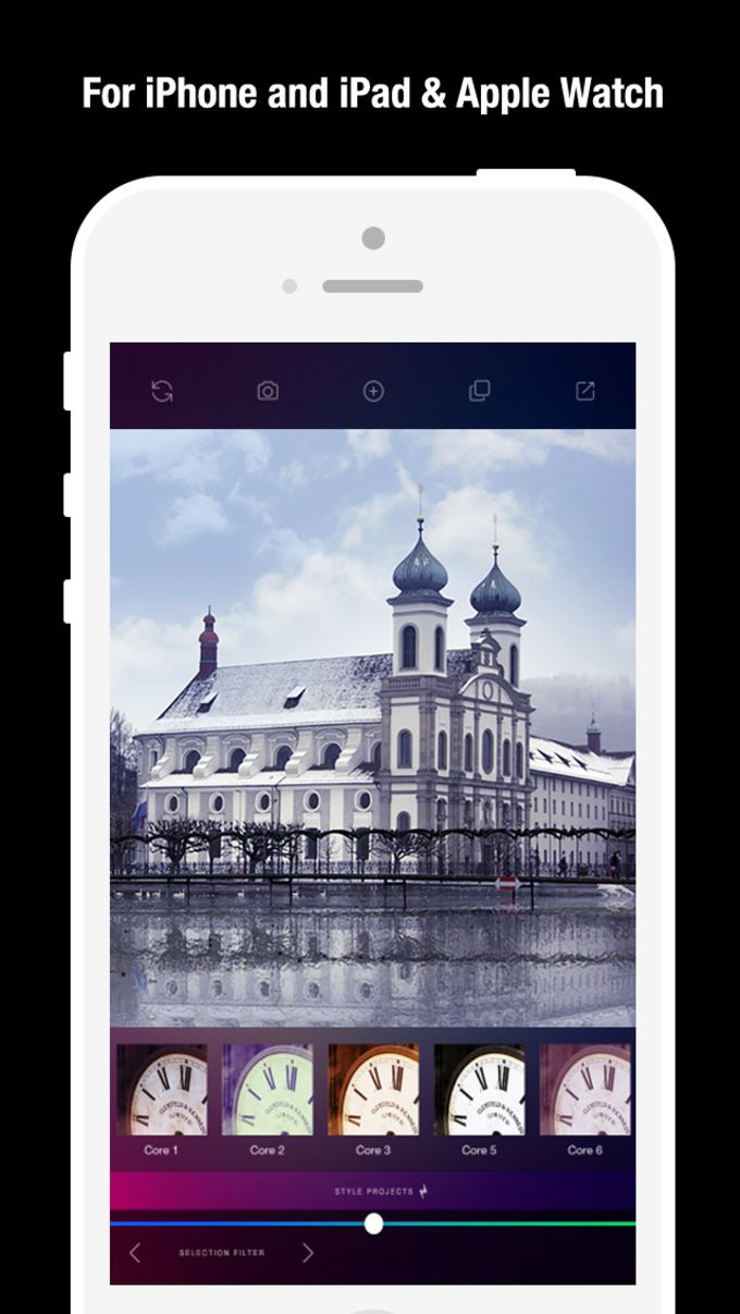 AW Cam Pro for Apple Watch - 500 Filters Effect Darkroom Camera