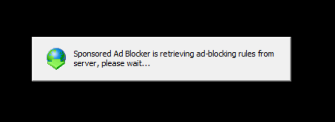 Sponsored Ad Blocker
