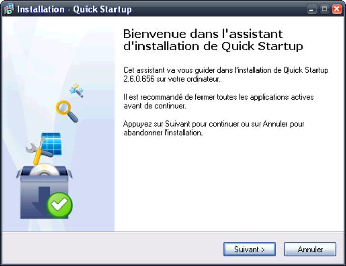 Quick StartUp