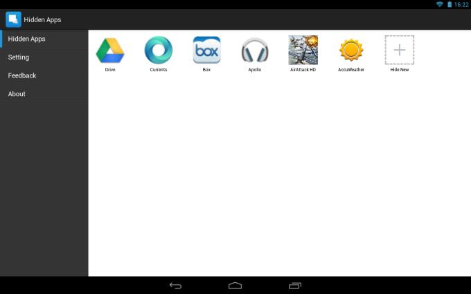 Hide App: Hide Application Icon
