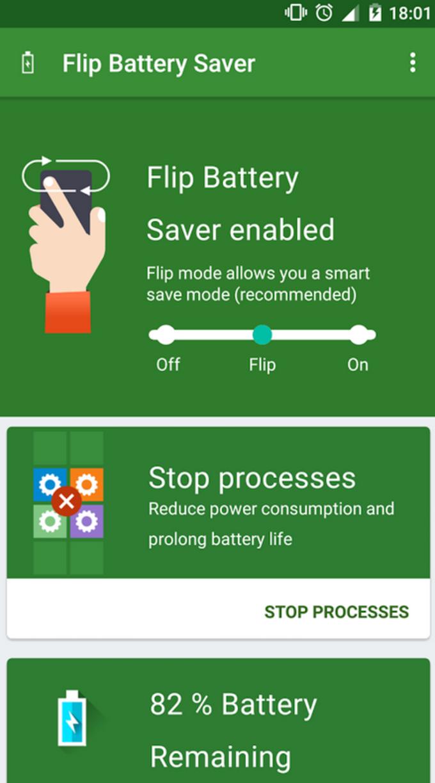 Flip Battery Saver (Power Up)
