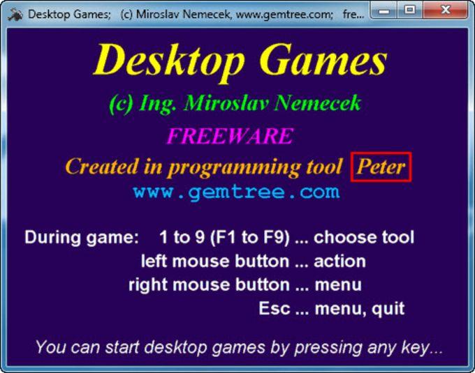 Desktop Games