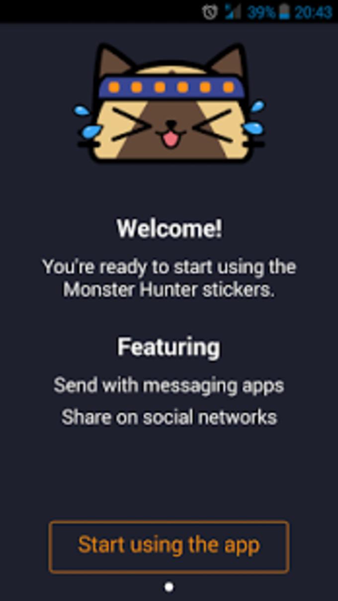 Monster Hunter™ Sticker App