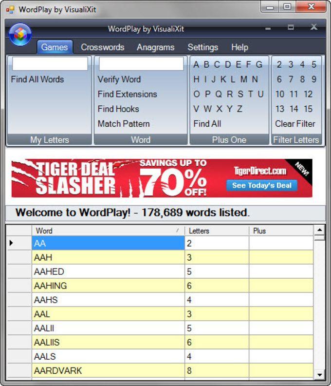VisualiXit WordPlay 2
