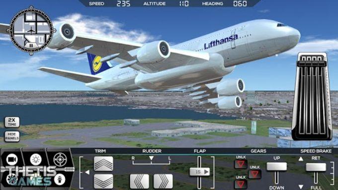 Flight Simulator FlyWings 2017