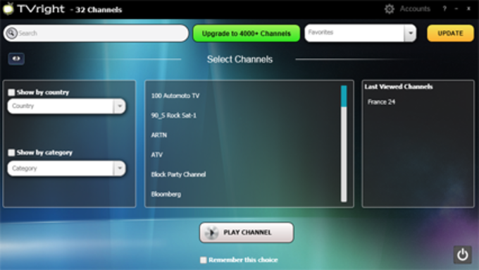 Online TV Channels TVright
