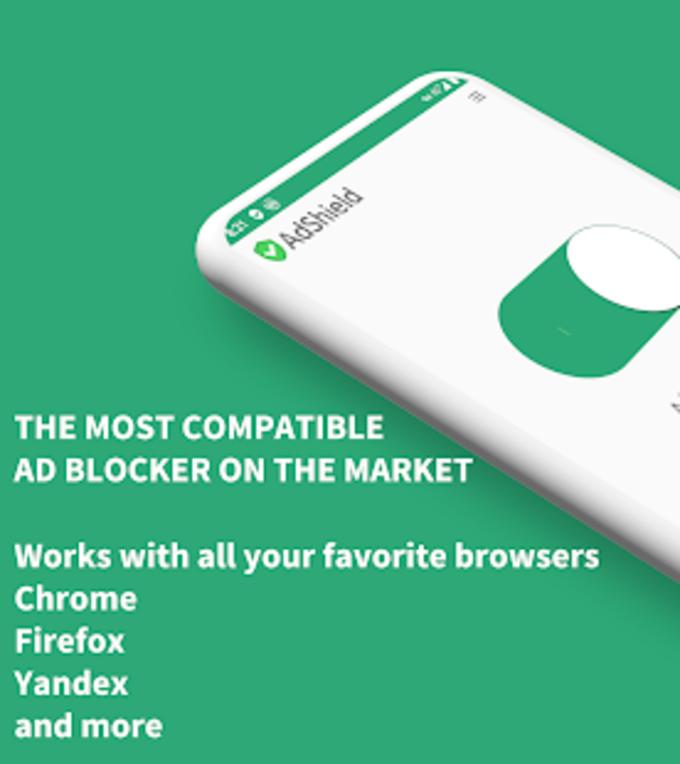 AdShield - Ad blocker No more ads  tracking