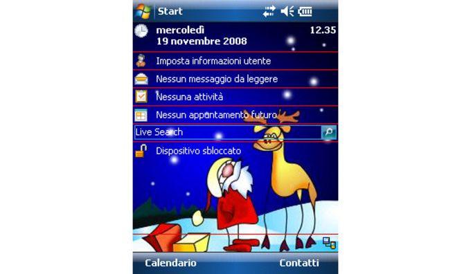 Santa and Gifts Theme