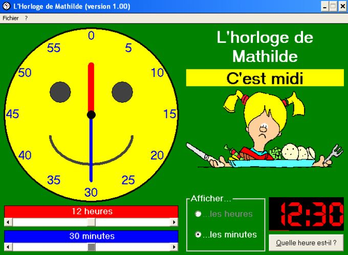 L'Horloge de Mathilde