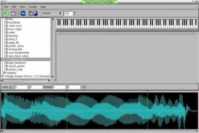 Smurf Sound Font Editor