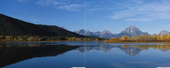 Fond d'écran double – Paysage