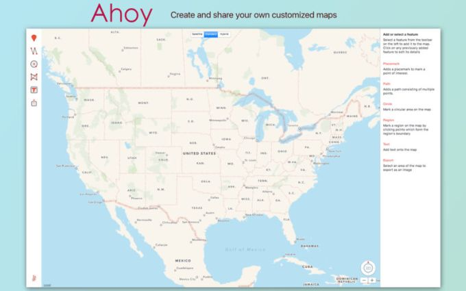Ahoy Map Maker