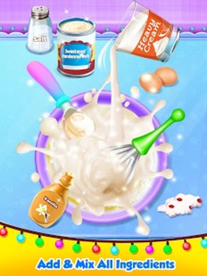 Unicorn Ice Cream Maker - Carnival Fair Food 2018