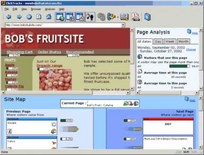 ClickTracks Analyzer