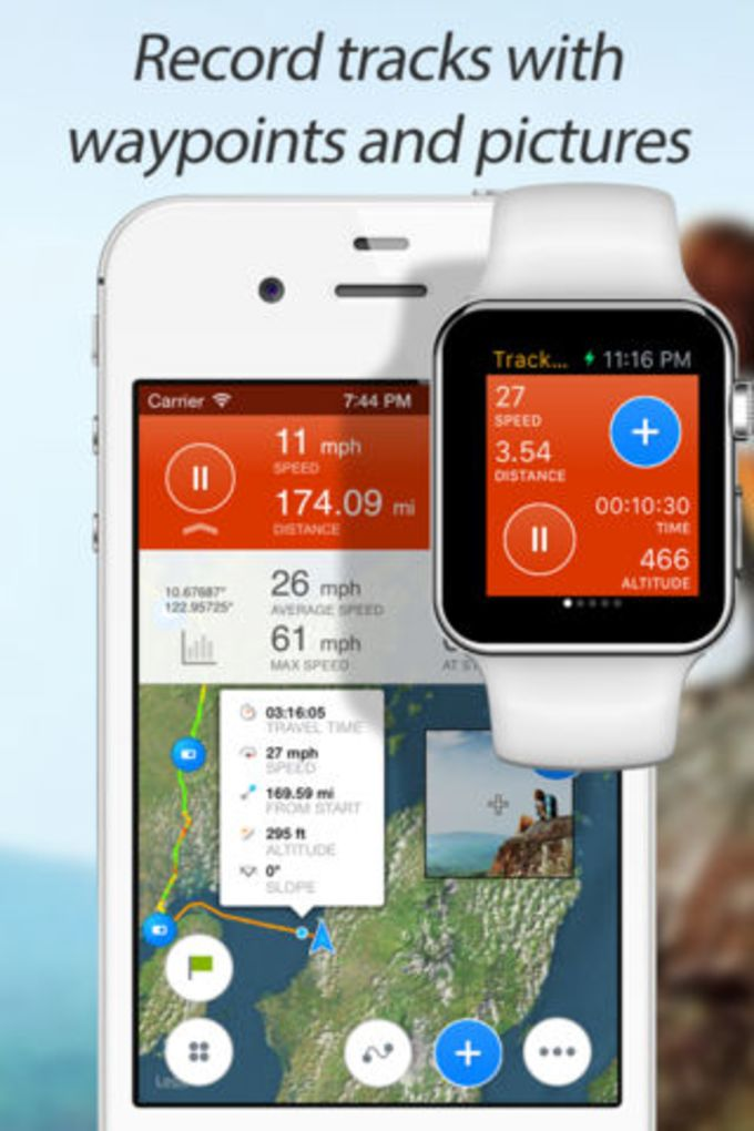 Track Kit - GPS Tracker with offline maps