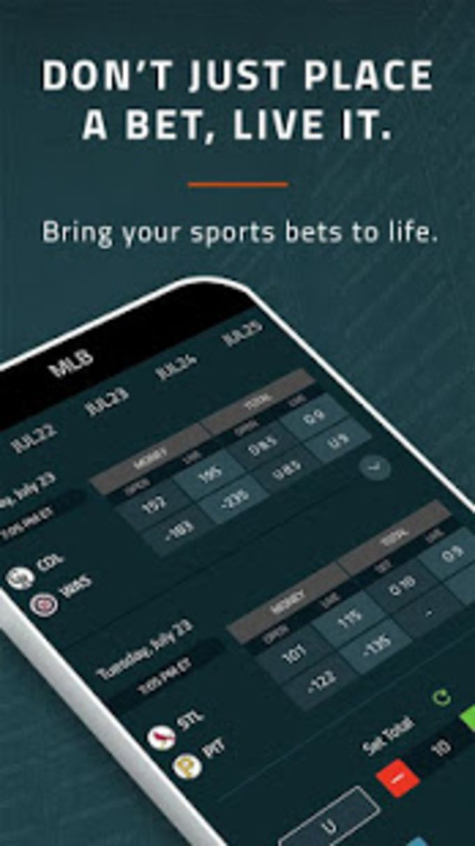 Covers Live Sports Betting Manager App for Android - Download