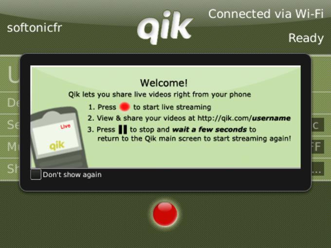 Qik Live Video Streaming