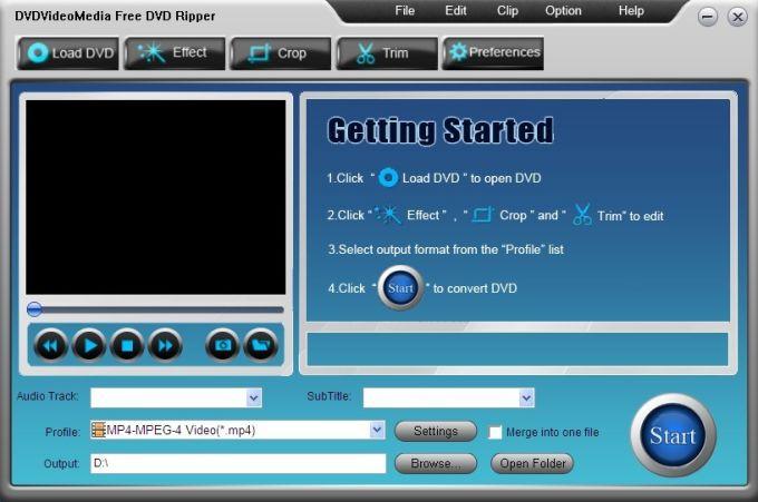 DVDVideoMedia Free DVD Ripper