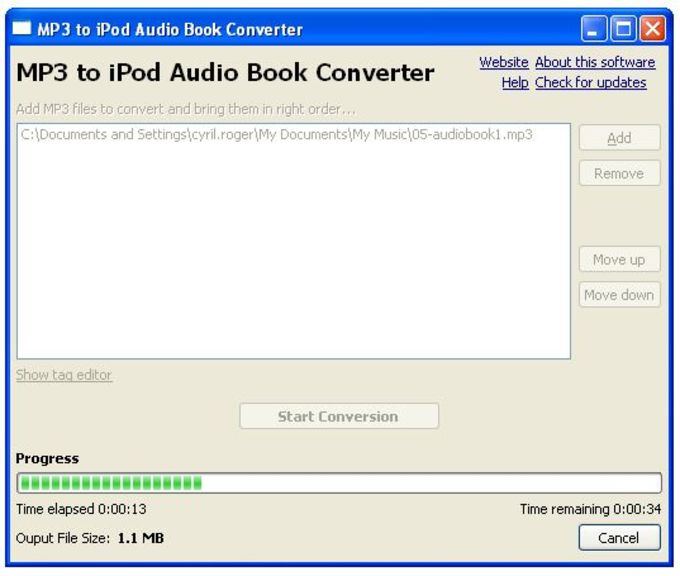 Download Tuneskit Audiobook Converter 3 0 6 12 Free On Os: MP3 To IPod Audio Book Converter
