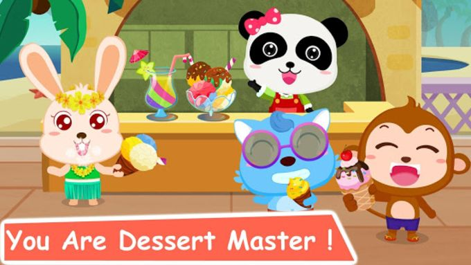 Ice Cream  Smoothies - Educational Game For Kids