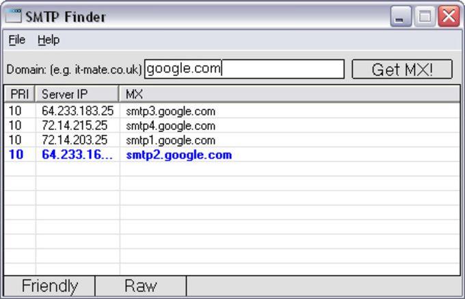 SMTP Finder