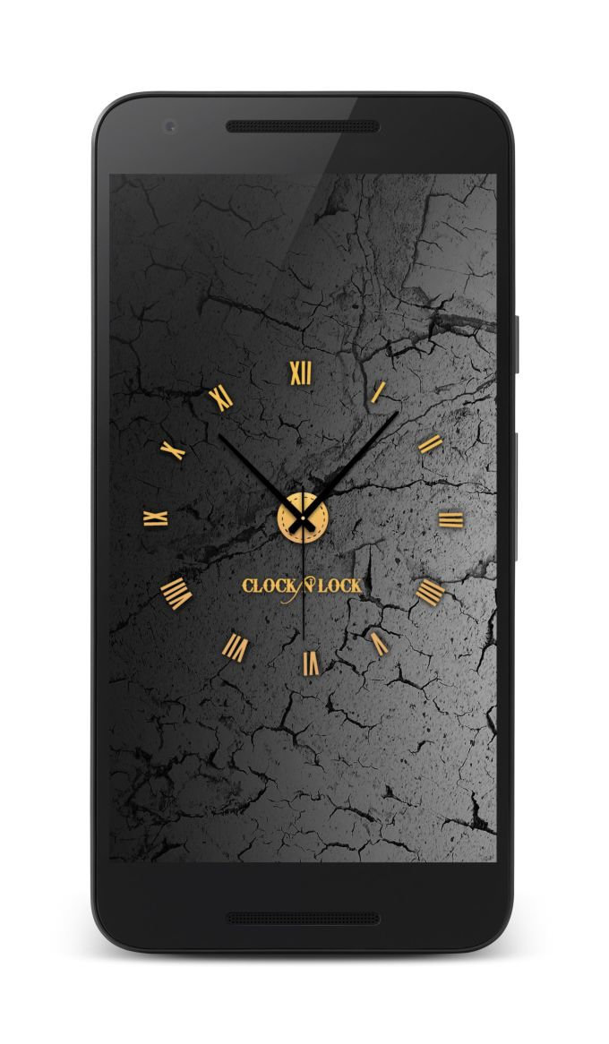 Clock N lock-Screen Lock