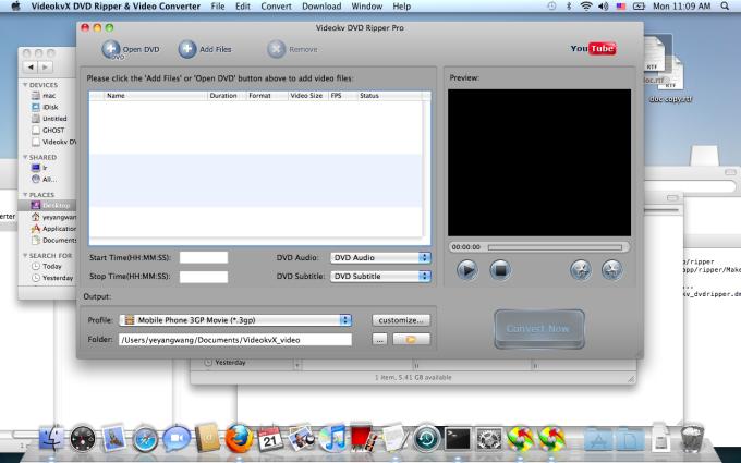 Videokv DVD Ripper for Mac