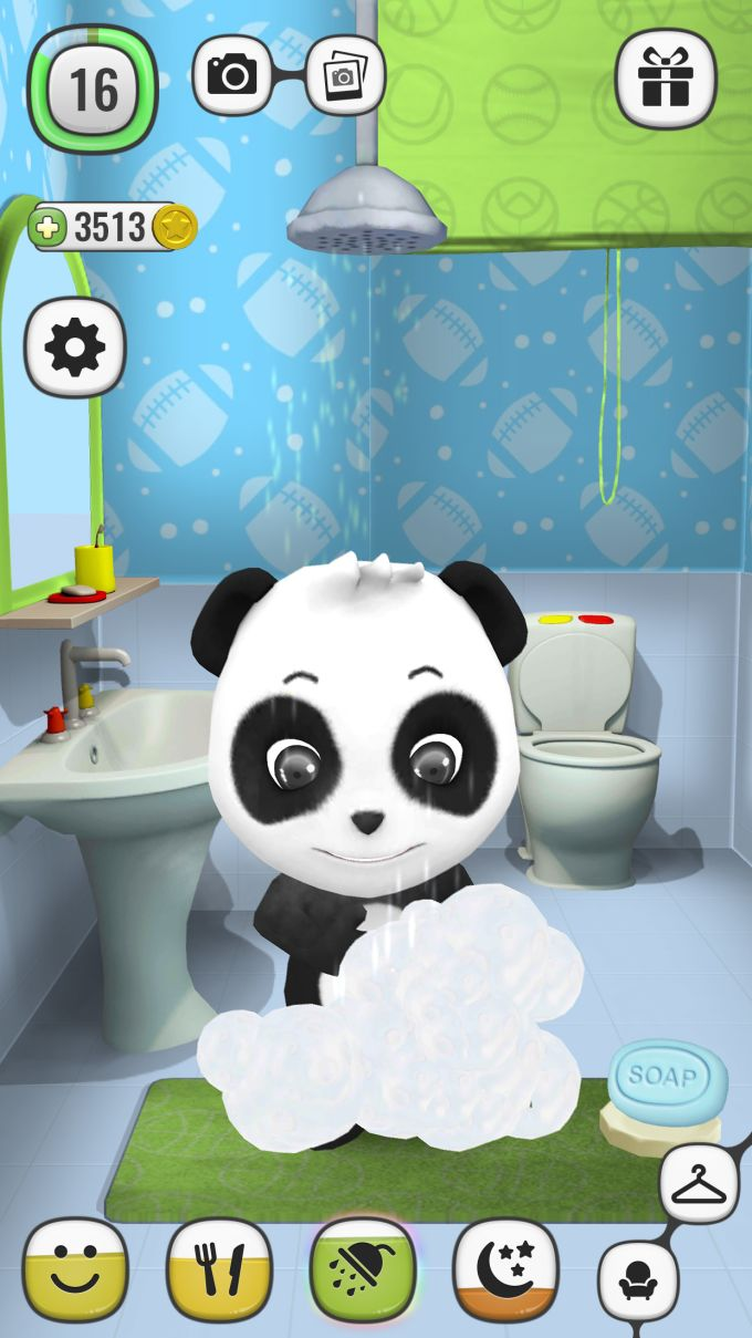 My Talking Panda Virtual Pet