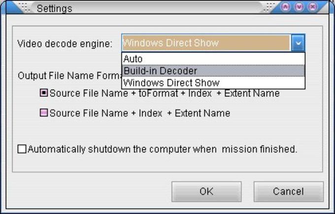 Allok RM RMVB to AVI MPEG DVD Converter