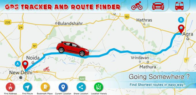 Route Finder