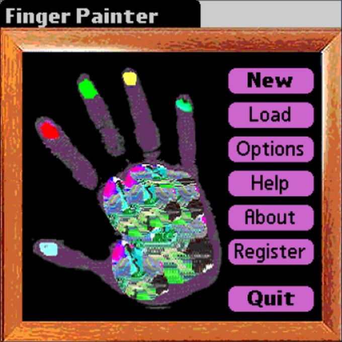 Finger Painter