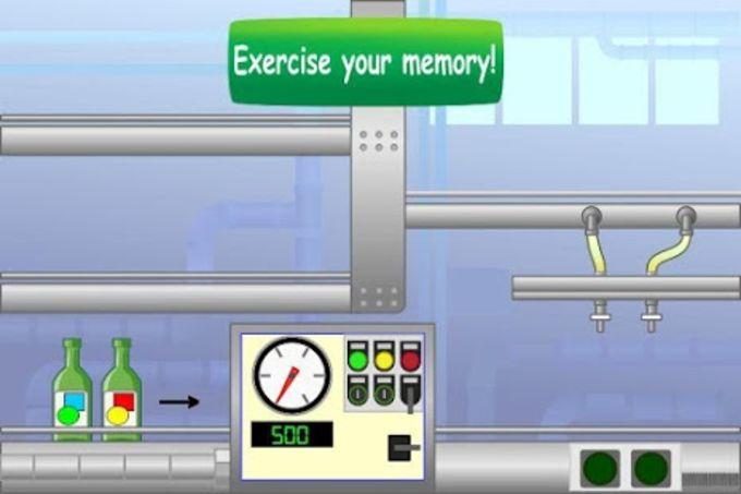 Strange Factory: Juego Memoria