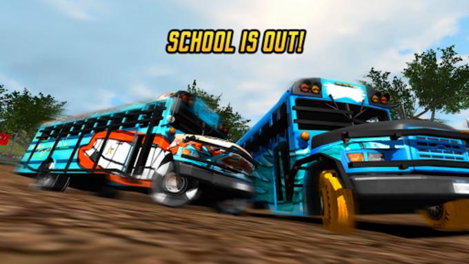 School Bus Demolition Derby
