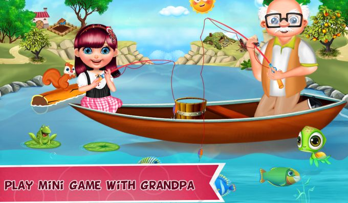 Happy Grand Parents Day Party