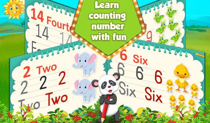 Preschool Numbers Worksheet