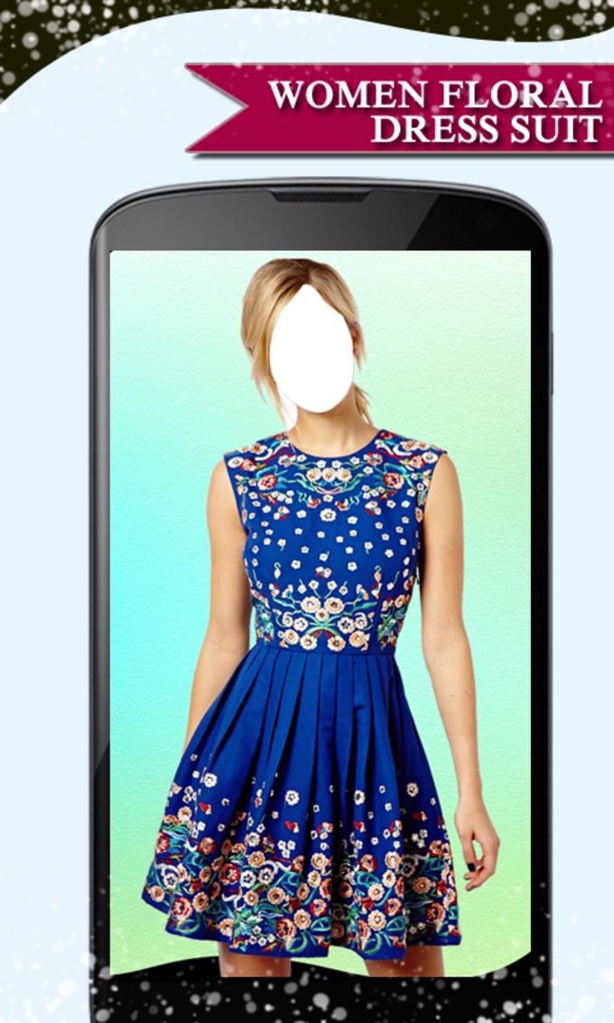 Women Floral Dress Suit