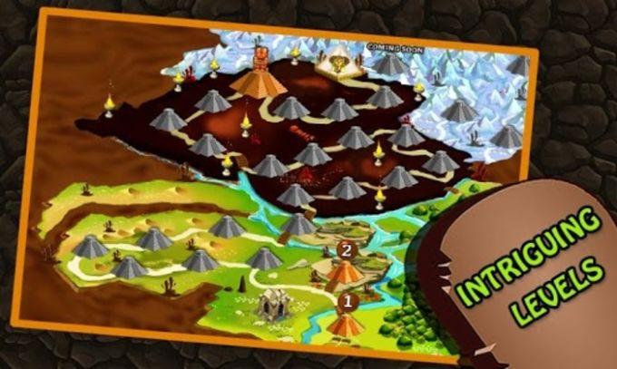Pyramid Mystery Maze Game