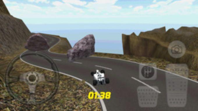 racing subida de la colina