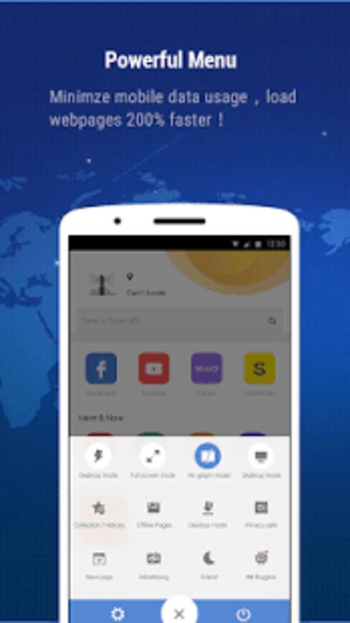 Kirin Mini Browser - fast, small, weather & news