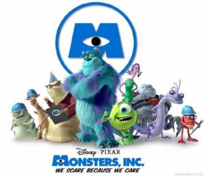 Monsters, Inc. Desktop Theme