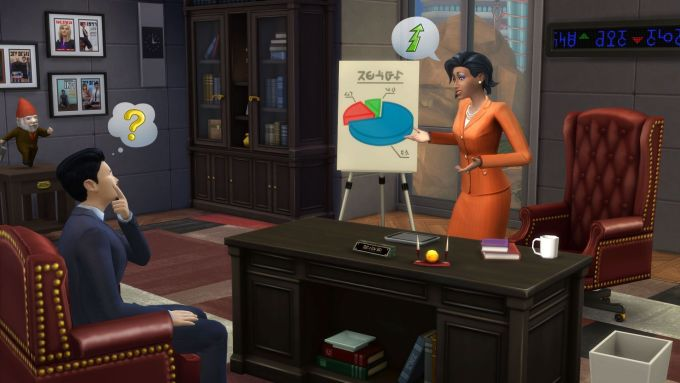 sims 4 get to work download free